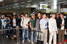Đã có thêm 261 lao động trở về Việt Nam an toàn từ Libya