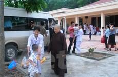 Đưa 34 trẻ, người già ở chùa Bồ Đề đến trung tâm bảo trợ xã hội