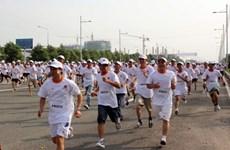 4.500 công nhân dệt may chạy bộ vì sức khỏe và an toàn lao động