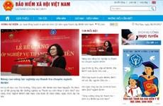 Bảo hiểm xã hội Việt Nam ra mắt cổng thông tin điện tử phiên bản mới