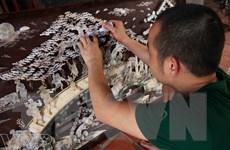 Trực tiếp xem các nghệ nhân chế tác tại Hội chợ Làng nghề Việt Nam