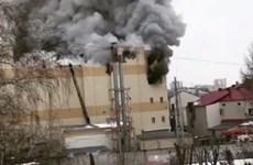 Nga: Hỏa hoạn lớn tại một trung tâm thương mại làm 4 người tử vong