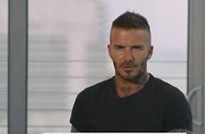[Video] David Beckham bật mí về gia đình trong Ngày của cha
