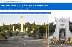 Nghĩa trang liệt sỹ trực tuyến: Nhịp cầu tri ân xoa dịu những nỗi đau