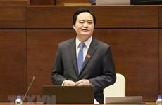 Bộ trưởng Phùng Xuân Nhạ giãi bày về kết quả phiếu tín nhiệm thấp