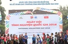 Hà Nội: Gần 2.000 người tham gia Ngày hội Tình nguyện Quốc gia
