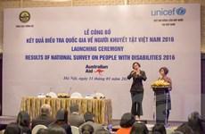 Người khuyết tật chiếm hơn 7% dân số của Việt Nam