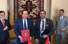 Việt Nam và UAE ký kết bản ghi nhớ về lao động giúp việc gia đình
