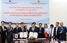 Việt Nam và Hàn Quốc hợp tác trong lĩnh vực lao động và việc làm
