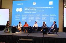 Nữ giới chiếm 45,6% lực lượng lao động tại Việt Nam