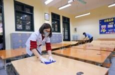 Hướng dẫn hành động cần thiết đề phòng chống COVID-19 tại trường học