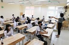 Học sinh quay lại học: Tắt điều hòa, đeo mặt nạ chống giọt có máy móc?