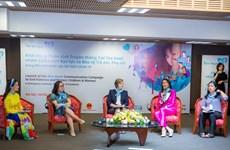 Khởi động chiến dịch Trái Tim Xanh: Chung tay bảo vệ trẻ em và phụ nữ