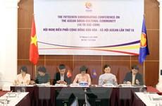 Việt Nam chủ trì đánh giá giữa kỳ kế hoạch tổng thể ASCC 2025