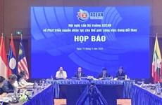ASEAN hợp tác phát triển nguồn nhân lực trong thế giới việc làm mới