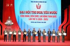 Tổ chức công đoàn tôn vinh 10 điển hình lao động thi đua yêu nước