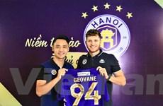 Hà Nội FC ký với ngoại binh đắt giá và tham vọng đòi lại 'ngôi vương'