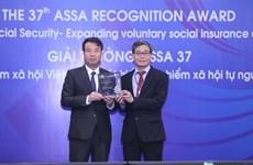 Phát triển bảo hiểm xã hội tự nguyện của Việt Nam đại giải tại ASSA 37