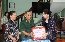 Tăng mức quà tặng dịp Tết Nguyên đán Tân Sửu 2021 cho người có công