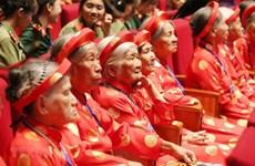 Đề xuất bổ sung trợ cấp hàng tháng cho Bà mẹ Việt Nam anh hùng