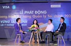 Sinh viên trẻ trau trồi kỹ năng start-up cùng các chuyên gia tài chính
