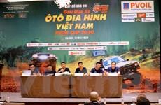 Khởi tranh giải đua ôtô địa hình lớn nhất Việt Nam năm 2020