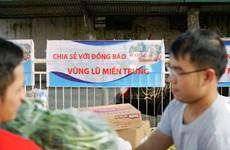 Những gói hàng ân tình gửi tới người dân nơi 'rốn lũ' miền Trung