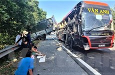 Tai nạn nghiêm trọng ở cao tốc Pháp Vân-Cầu Giẽ, 4 người thương vong