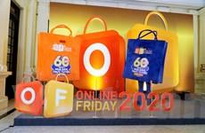 Thị trường mua sắm trực tuyến nhộn nhịp trong ngày Online Friday