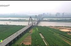 [Video] Toàn cảnh khu quy hoạch đô thị sông Hồng từ trên cao