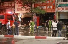 Công bố danh tính 4 người thiệt mạng trong vụ cháy ở phố Tôn Đức Thắng
