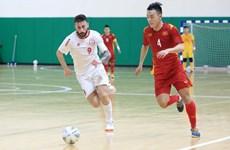 Futsal Việt Nam 0-0 Lebanon: Còn nguyên cơ hội dự World Cup