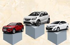 Điểm mặt 10 mẫu xe ôtô bán chạy nhất thị trường trong tháng Tám