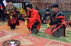 Tái hiện phong tục đón Tết cổ truyền của đồng bào dân tộc ở Hà Nội