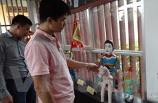 Về thăm làng múa rối nước Hồng Phong hơn 300 năm tuổi