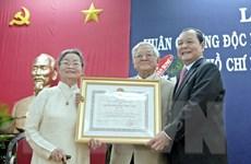 Trao huân chương Quốc công cho Đại sứ đầu tiên của Việt Nam tại Pháp
