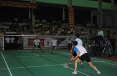 Khai mạc giải cầu lông Cúp Phát thanh-Truyền hình Thái Bình