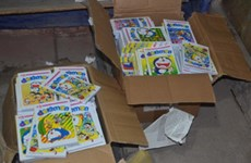 Hà Nội: Thu giữ hơn 1.600 cuốn sách lậu tại nhà sách Nam Liên