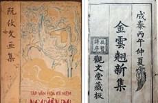 Bản chép tay từ năm 1879 tái xuất tại Tuần triển lãm về Nguyễn Du