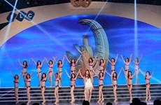 """Màn trình diễn bikini """"nóng bỏng"""" của thí sinh Hoa hậu Bản sắc Việt"""