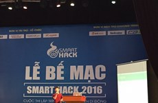 Smart Hack 2016 vinh danh bốn ứng dụng di động của sinh viên