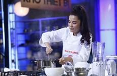 Ca sỹ Kiwi Ngô Mai Trang trở thành Vua đầu bếp Việt Nam 2017