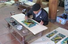 Xây dựng hồ sơ đề nghị UNESCO công nhận nghề làm tranh Đông Hồ