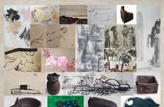 'Sắc dó và gốm Hương Canh': Những sáng tạo từ chất liệu truyền thống