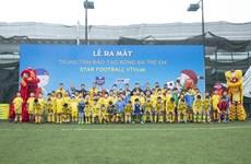 Sân chơi mới cho trẻ em yêu thích bóng đá tại Thủ đô Hà Nội