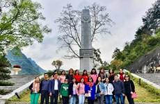 VietnamPlus về nguồn Pác Bó: Hành trình về nơi in dấu chân Người