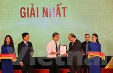 VietnamPlus tiếp tục giành giải Nhất thông tin đối ngoại toàn quốc