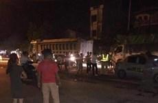 Xác định danh tính đối tượng hành hung cảnh sát giao thông