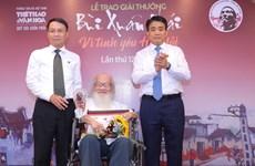Giải thưởng Bùi Xuân Phái: Vinh danh ý tưởng làm sạch sông Tô Lịch
