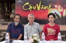 Nghệ sỹ Viết Liên hóa thân thành Lão Hạc trong 'Cậu Vàng'